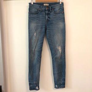 Madewell Distressed Skinny Jean